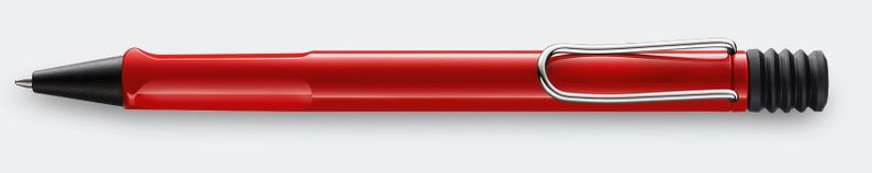 Lamy Safari Ballpoint Pen - Red