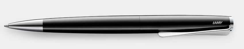 Lamy Studio Ballpoint Pen - Piano Black