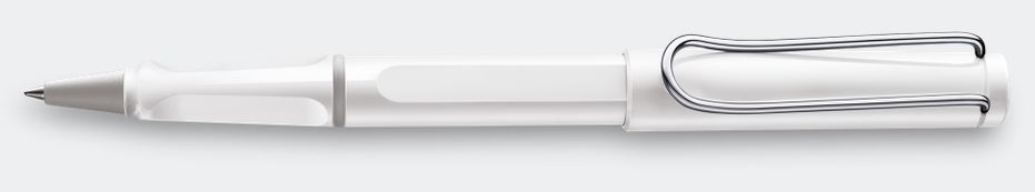 Lamy Safari Rollerball Pen - White