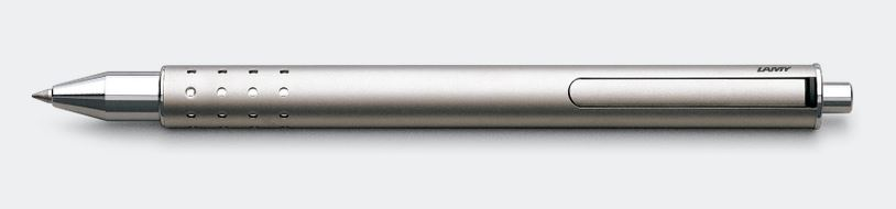 Lamy Swift Rollerball Pen - Palladium