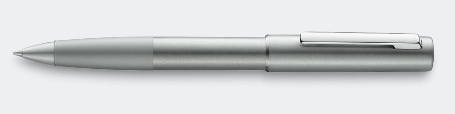 Lamy Aion Rollerball Pen - Olive Silver Aluminum