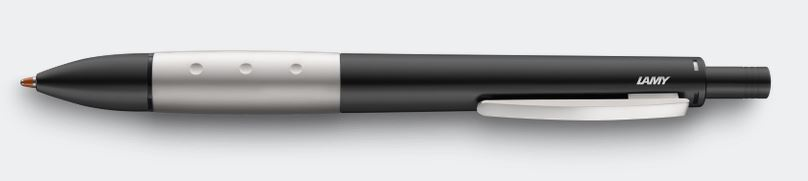 Lamy Accent 3+1 Multisystem - Black Lacquer With Aluminum Grip