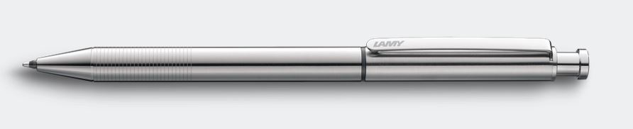 Lamy ST Twin Pen 2 in 1 - Stainless Steel