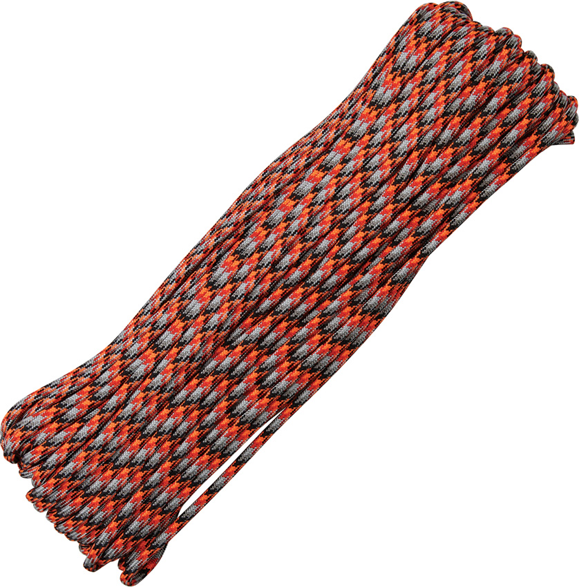 550 Paracord, 100Ft. - Lava