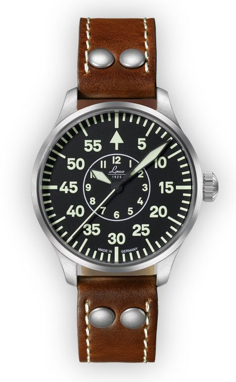 Laco Basic Pilot Watch 39mm Automatic Aachen 861990