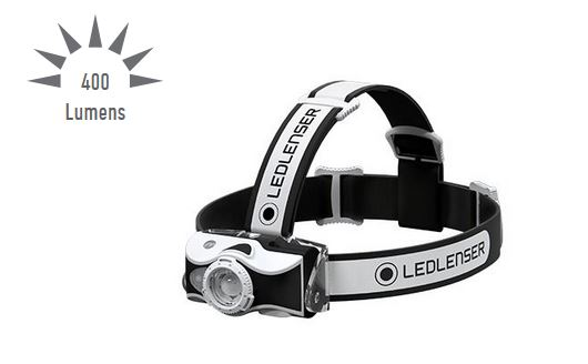 LED Lenser MH7 Rechargebale Headlamp - 400 Lumens