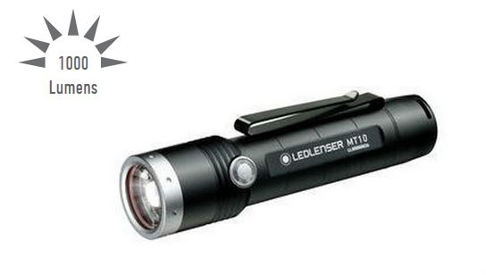 LED Lenser MT10 Rechargeable Flashlight- 1000 Lumens