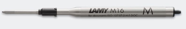 Lamy M16 Ballpoint Pen Refill - Medium - Black