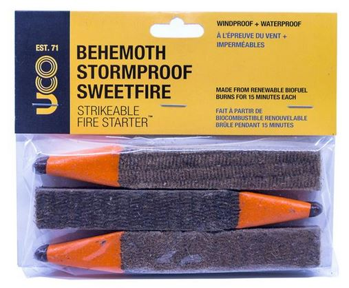 UCO Gear Behemoth Stormproof Sweetfire