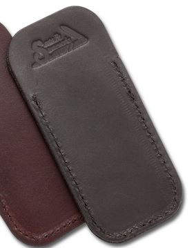 Santa Fe Stoneworks Leather Knife Pouch - Black