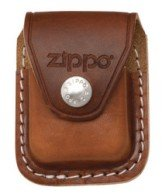 Zippo LPCB Leather Lighter Clip Pouch - Brown