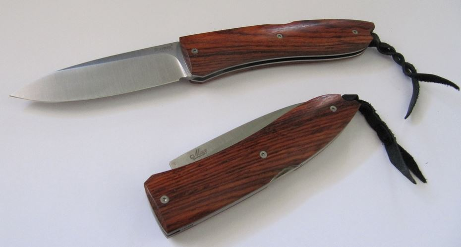 Lion Steel 8810ST Big Opera Folder - Santos Wood