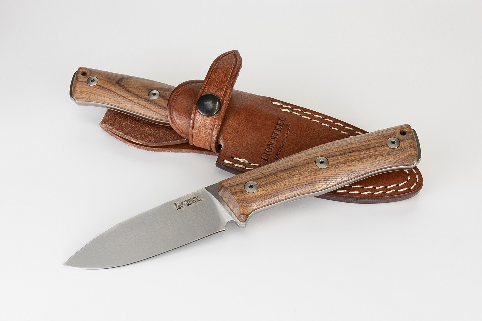 Lion Steel B35 ST Slepiner Fixed Blade - Santos Wood