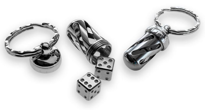 Lion Steel Acorn Dice Stainless