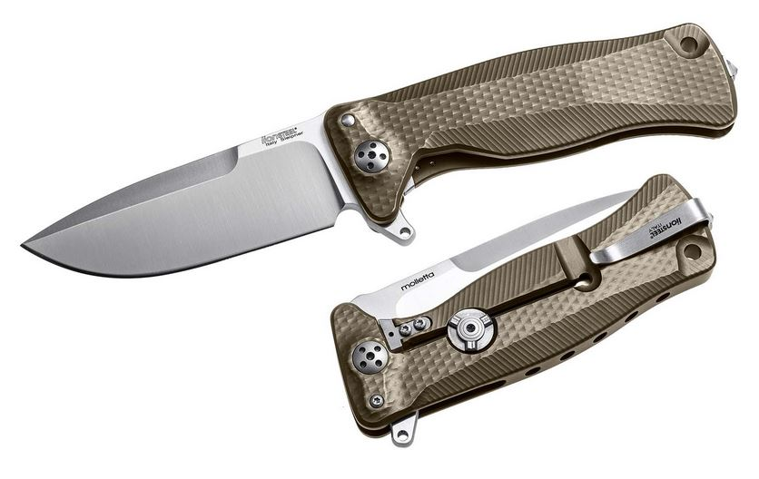 Lion Steel SR11 B Bronze Titanium Flipper