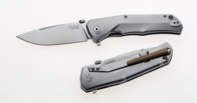 Lion Steel T.R.E. Exchange M390 Titanium Framelock - Bronze