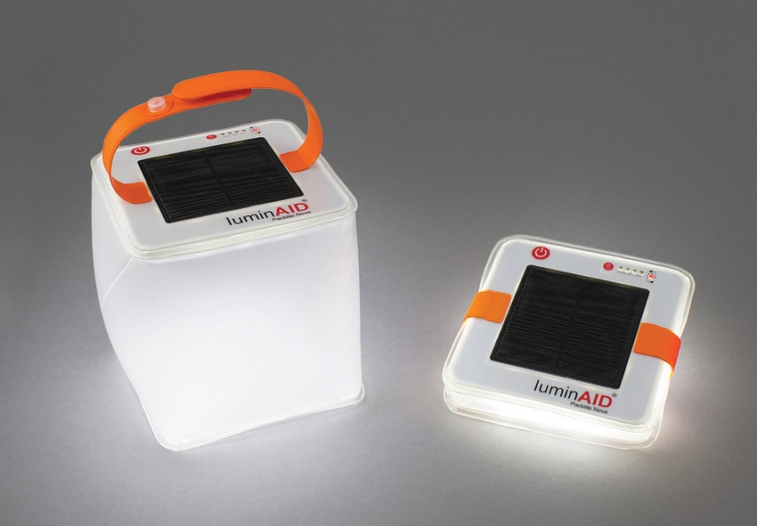 LuminAID PackLite Nova Solar Lantern with USB Recharging
