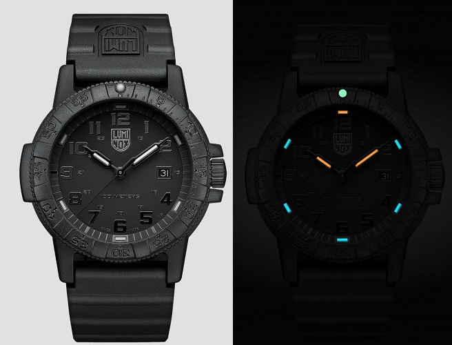 Luminox A.0321.BO Giant Sea Turtle Series - Blackout