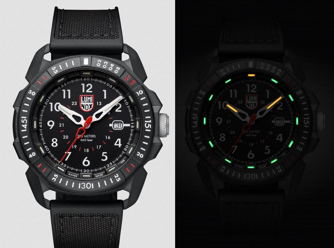 Luminox 1001 Arctic Series ICE-SAR - Black
