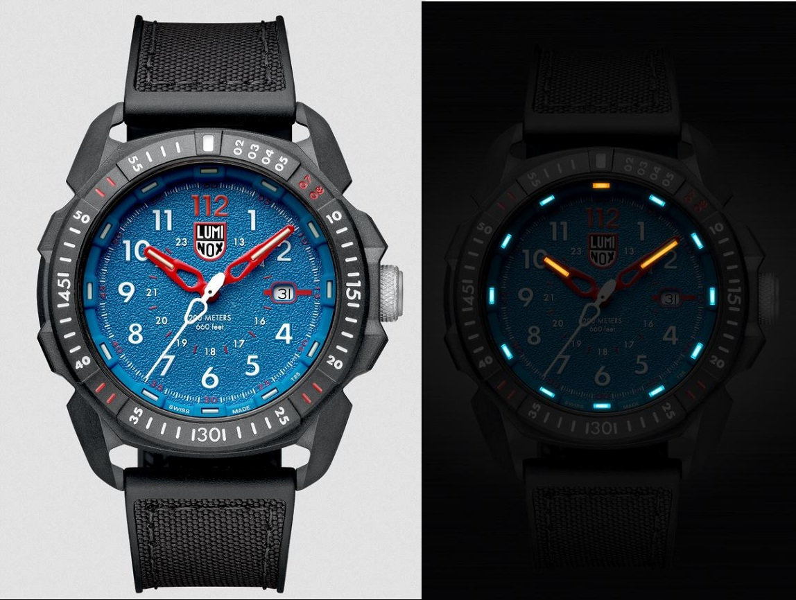 Luminox 1003 Arctic Series ICE-SAR Blue