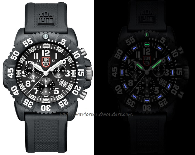 Luminox Sea A.3081 Colormark Chronograph Series