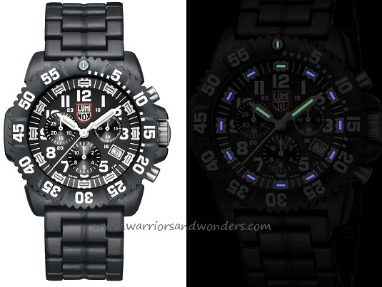 Luminox Sea A.3082 Colormark Chronograph Series