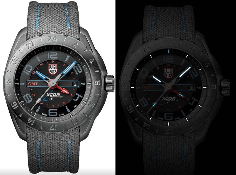 Luminox A.5121GN XCOR Series GMT - Grey