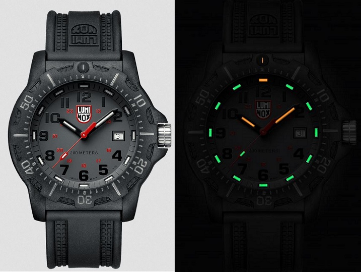 Luminox A.8882 Black Ops Series - Gray