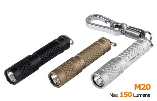 Acebeam M20 Keychain Light Tan - 150 Lumens