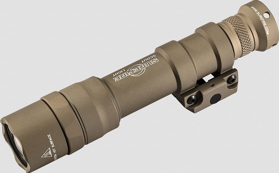 Surefire M600DF Dual-Fuel LED Ultra Scout Light-Tan- 1500 Lumens
