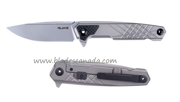 Ruike M875-TZ Folder N690 Titanium Framelock Folder