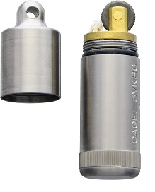 Maratac Peanut Lighter XL Titanium 001