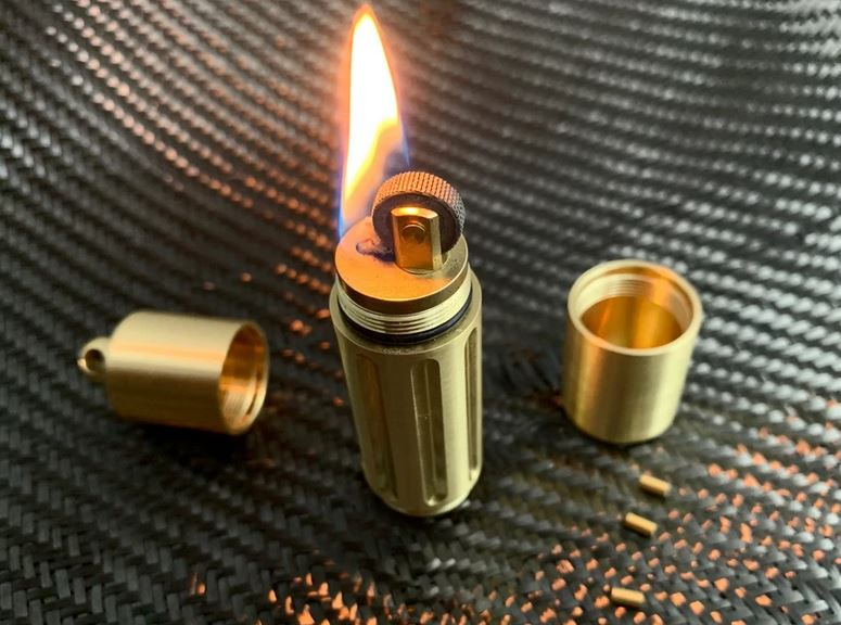 Maratac Brass Lighter Vault Cache