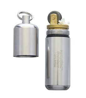 Maratac Peanut Lighter XL Stainless Steel 20