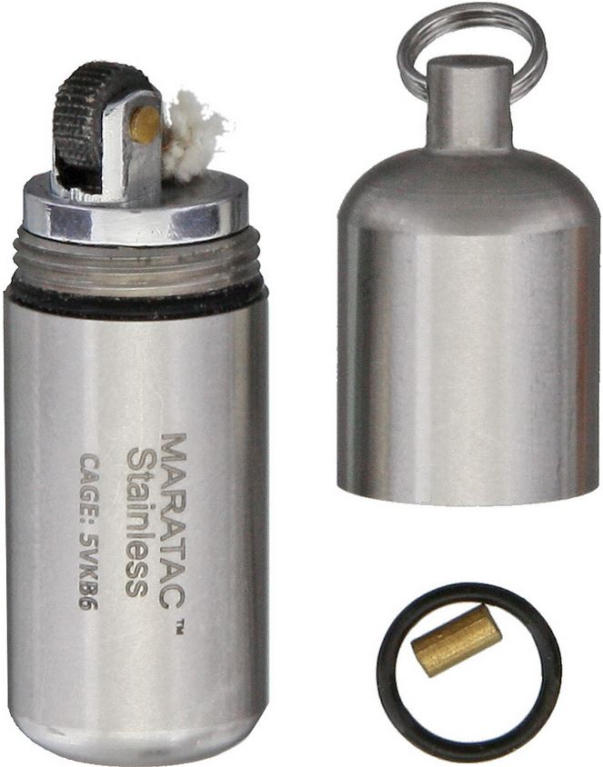 Maratac 27 Stainless Steel Peanut Lighter