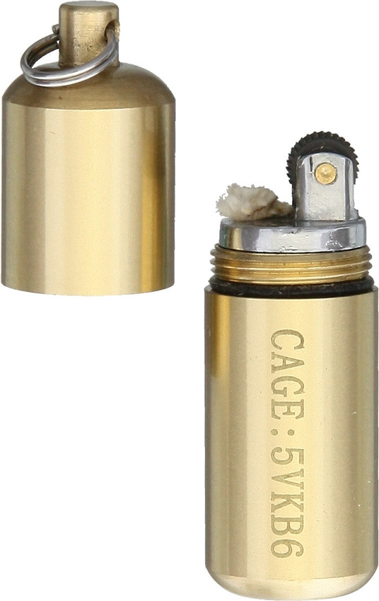 Maratac 32 Brass Peanut Lighter