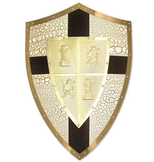MC 4005 Lionheart Medieval Shield (Online Only)