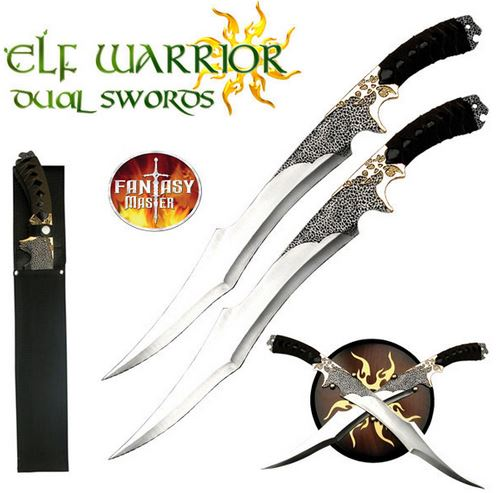 Fantasy Master FM411 Elf Warrior Dual Swords (Online Only)