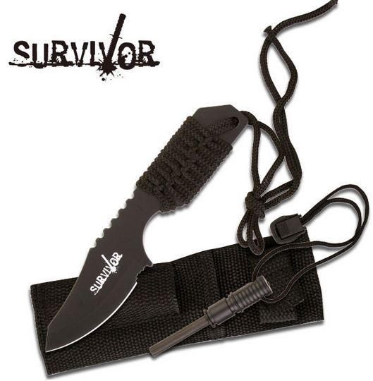 MC SurviVor HK106321B Cord Wrapped - Black (Online Only)
