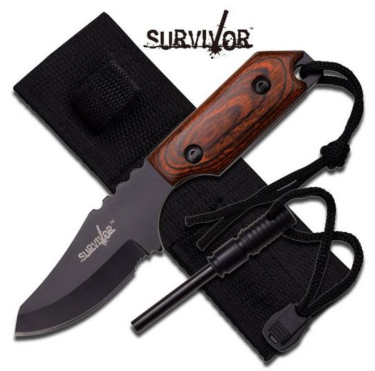 MC SurviVor HK106321BW Pakkawood (Online Only)