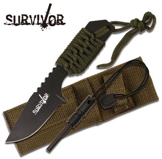 MC SurviVor HK106321G Cord Wrapped - Olive Green (Online Only)