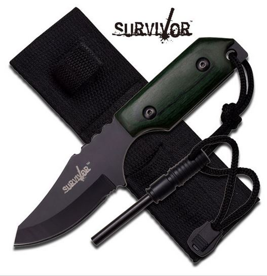 MC SurviVor HK106321GW Pakkawood Green (Online Only)