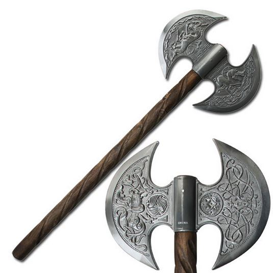 MC HK1098 Medieval Fantasy Battle Axe (Online Only)