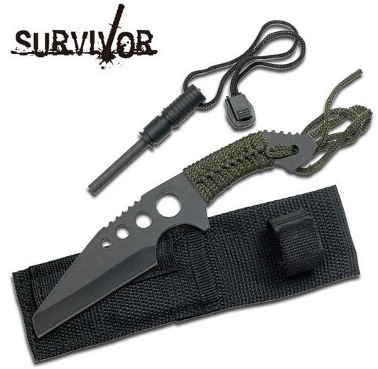 SurviVor HK736 Cord Wrapped Sheepsfoot Survival (Online Only)