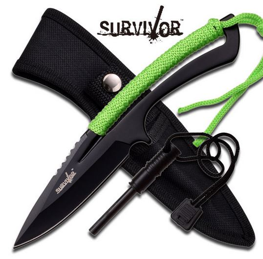 SurviVor HK767GN Racer Neon Green (Online Only)