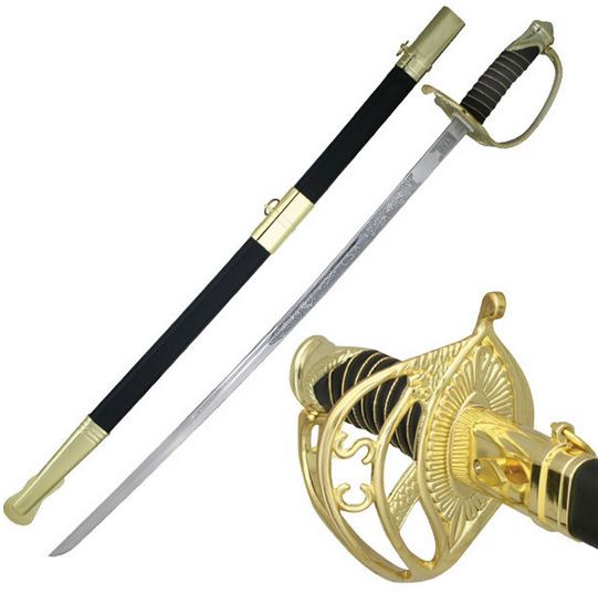MC HK8851CS Confederate Officer's Decorative Saber (Online Only)
