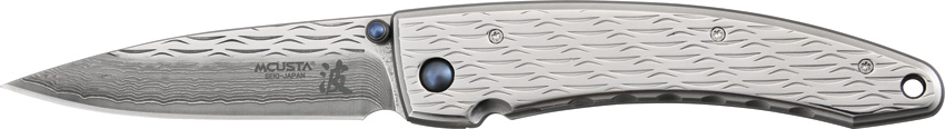 Mcusta 112D Nami Large, Damascus Steel (Online Only)
