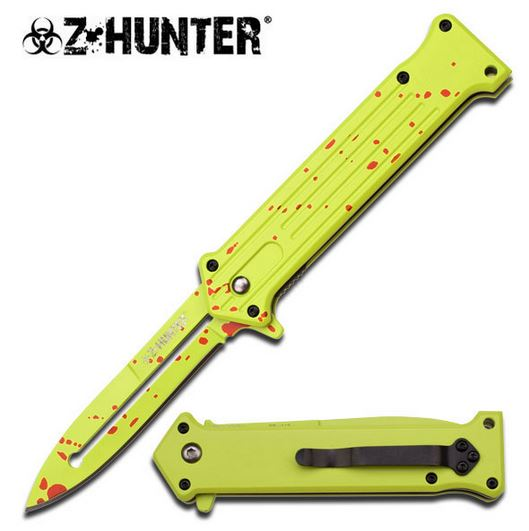 Z-Hunter ZB115 Neon Splatter Assisted Opening (Online Only)