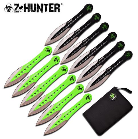 "Z-Hunter ZB163-12 Apocalypse 6"" Throwing Set (Online Only)"