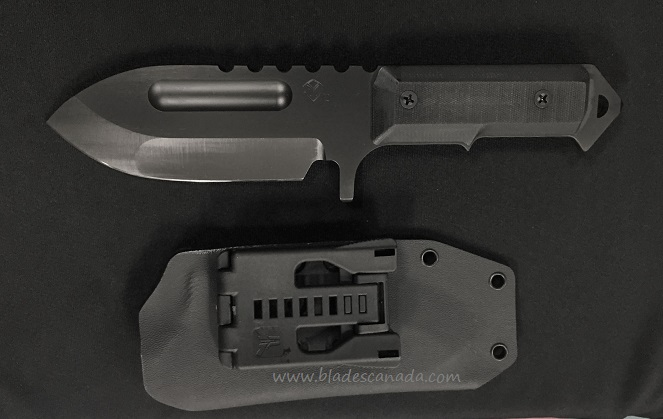 Medford Sea Wolf Fixed Blade Black G10 - Black PVD Finish